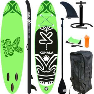 EXPLORER-KOHALA-300-SUP-Board-Stand-Up-Paddle-Surfing-aufblasbar-Paddel-ISUP-NEU