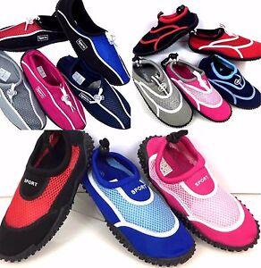 nuovi prezzi più bassi cerca genuino tessuti pregiati SCARPE DA SCOGLIO Water Shoes Scarpette Tessuto Sport Acqua ...