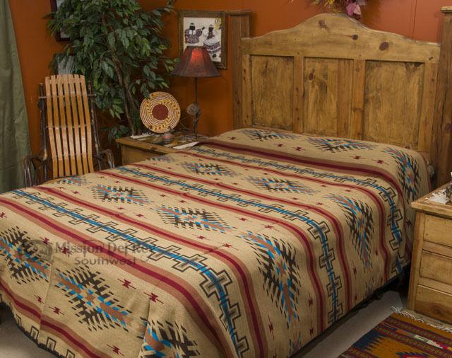 Southwest Decor Bedspread -Isleta KING