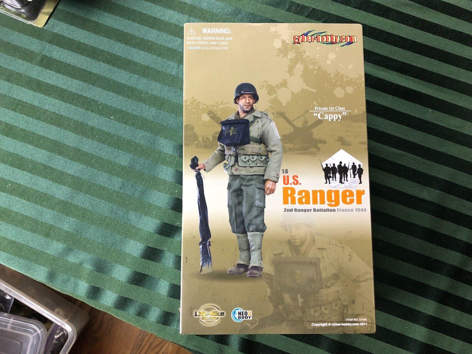 Cyber-Hobby US Ranger 2nd batallón privado 1st clase  promociona  Francia 1944