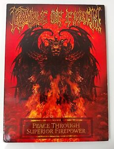 Video-DVD-CRADLE-OF-FILTH-Peace-Through-Superior-Firepower-LIKE-NEW-LN