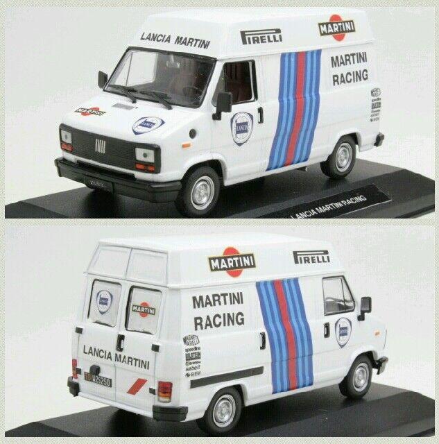 1 43 FIAT DUCATO ASSISTENZA LANCIA MARTINI RALLY DIORAMA CODE3 MIB