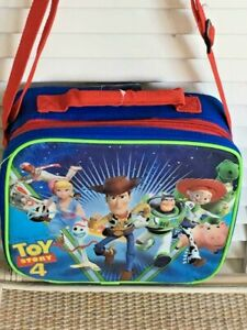 293f5e65e5c1 Details about Toy Story 4 lunch box, Disney Pixar, insulated, soft with  adjustable strap