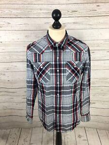 LEVI-S-Lumberjack-Shirt-Size-Medium-Check-Great-Condition-Men-s