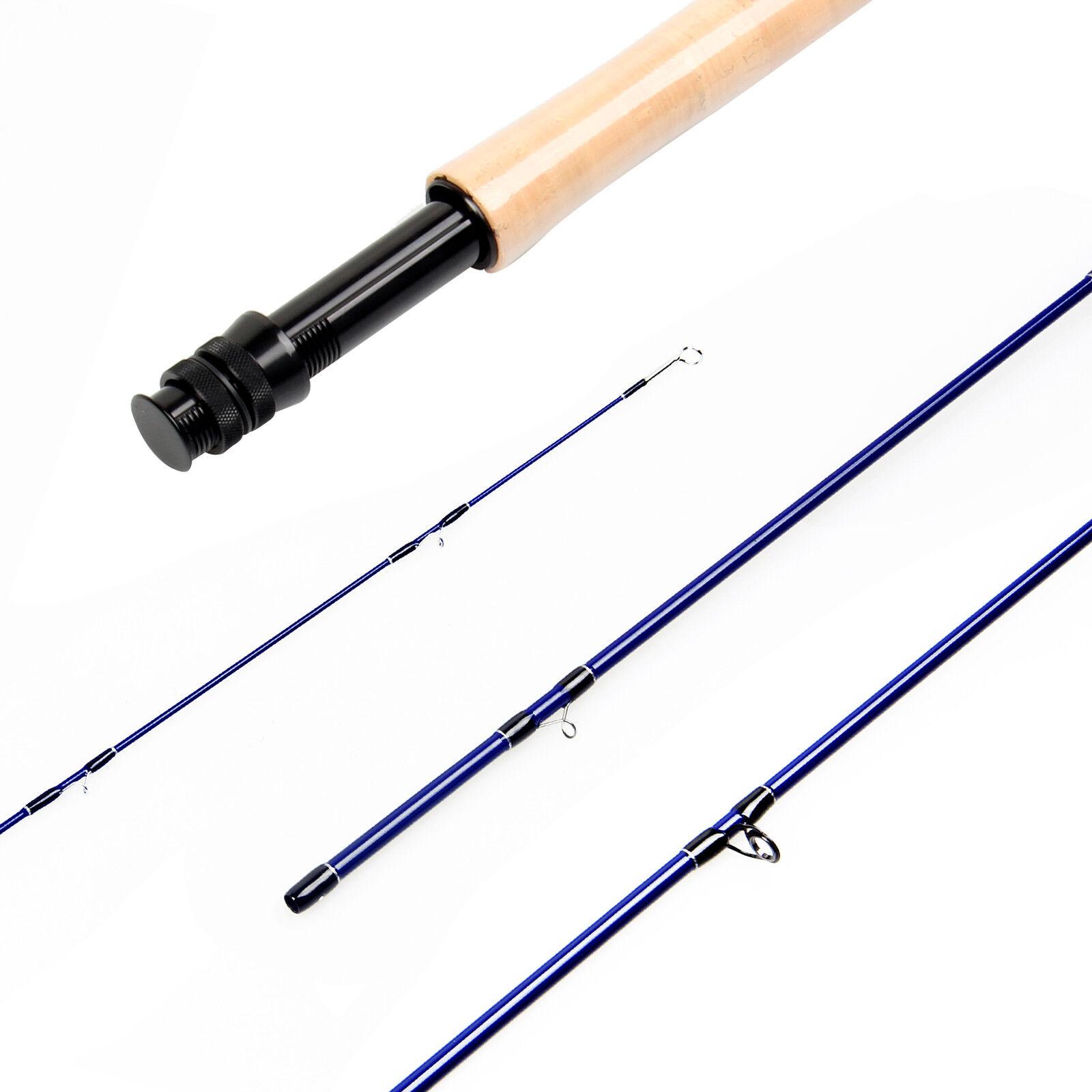 3 5WT Fly Rod SK Carbon Fiber Fly Fishing Rod Medium Fast Action Blank Design