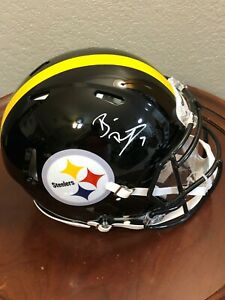 Ben-Roethlisberger-Pitt-Steelers-Signed-Autograph-Full-Size-Authentic-Helmet-BAS