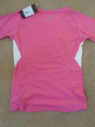 TAGS More Mile womens performance sportswear tee shirt size 4 NEW