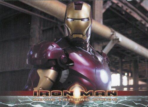 Iron Man Movie SINGLE PROMO TRADING CARD P2 Robert Downey Jr Rittenhouse
