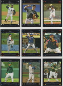2007-Topps-Baseball-Team-Sets-Pick-Your-Team