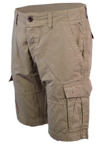 Da Uomo Cargo Combat Pantaloncini 100/% cotone camouflage moda estate 30-38
