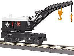 MTH RailKing Southern Pacific Crane Car O Gauge Model Trains 30-79570