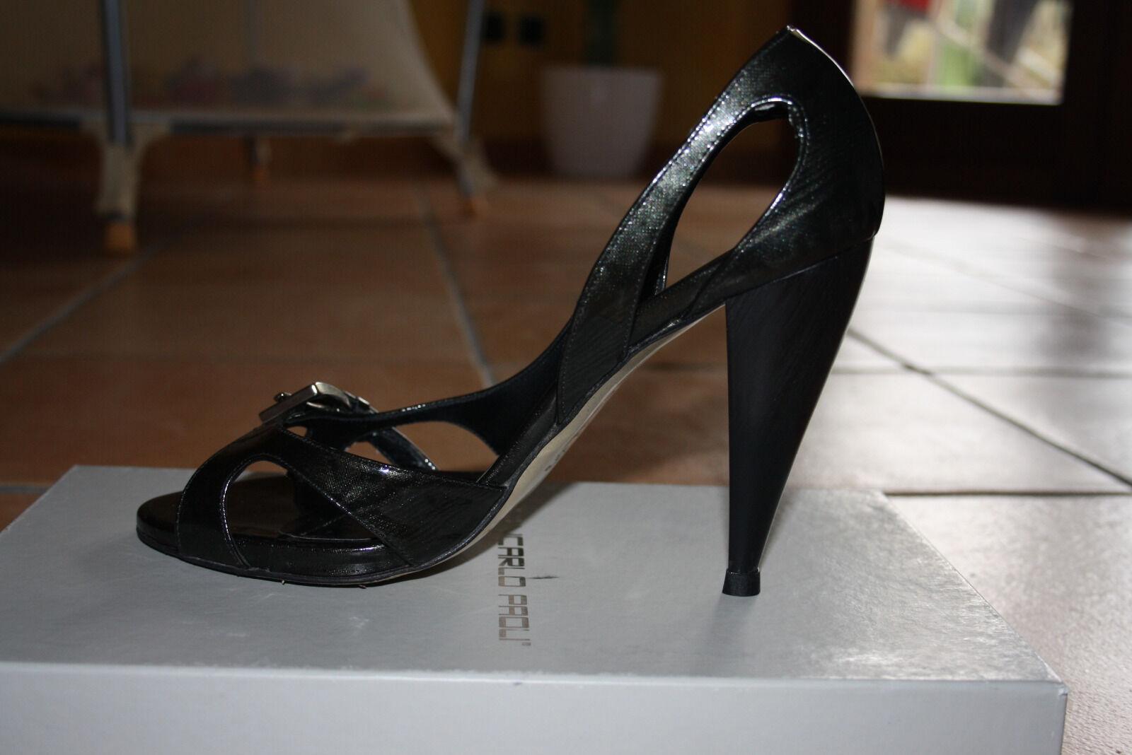 shoes Giancarlo Paoli sandali cerimonia tacco numero 40 (shoes) made made made in  e45954