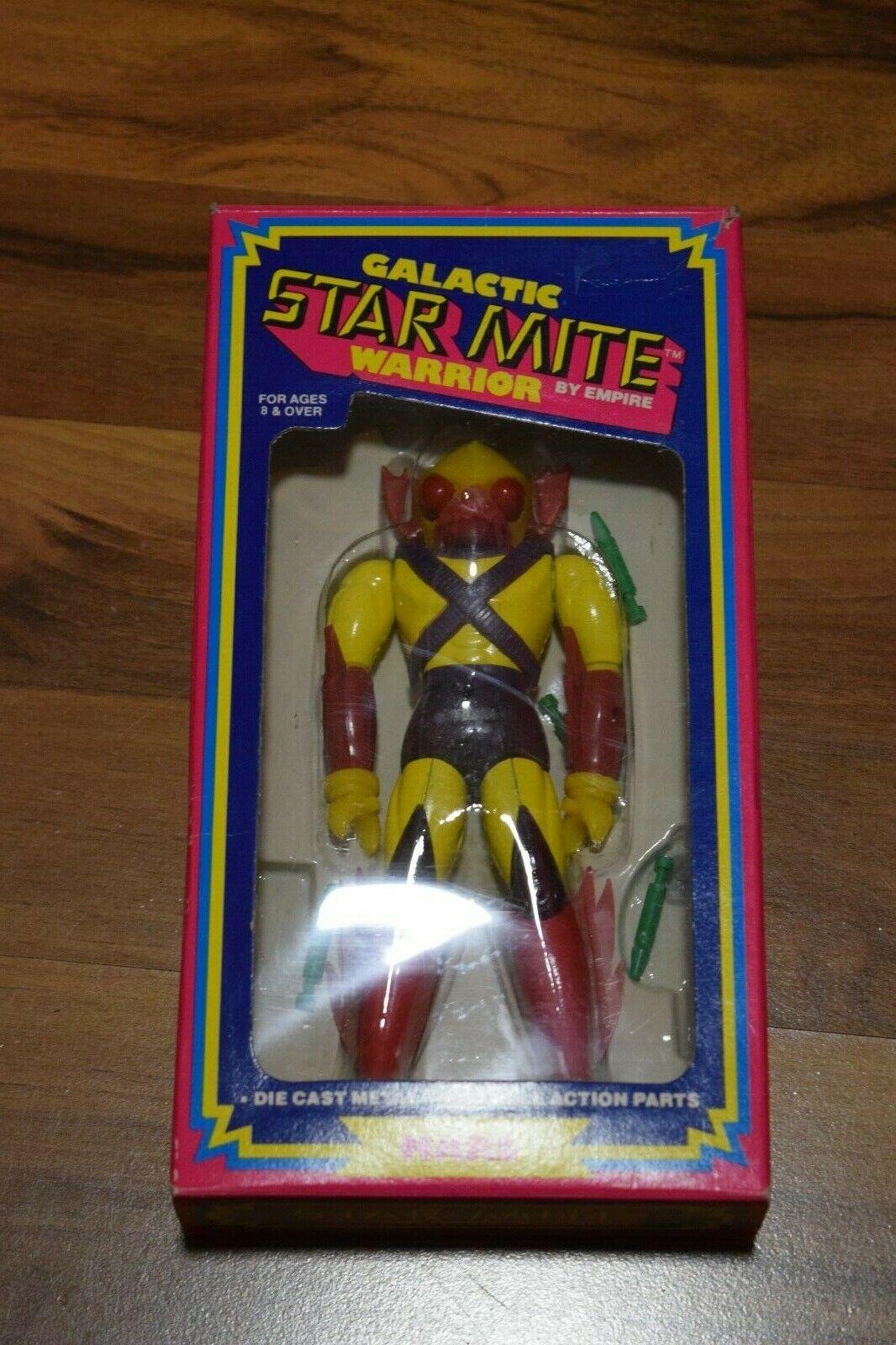 Galactic Star Mite Warrior Mars Mattel