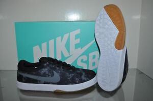 653dcb5d61 Nike Eric Koston Canvas Boys Skate Shoes 654148 012 Black/Gray New ...