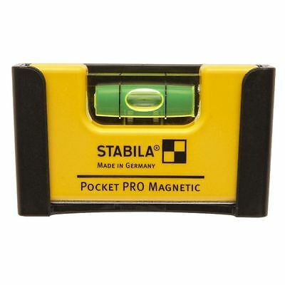 NEW Stabila Pocket Pro Magnetic Level 17768 7cm