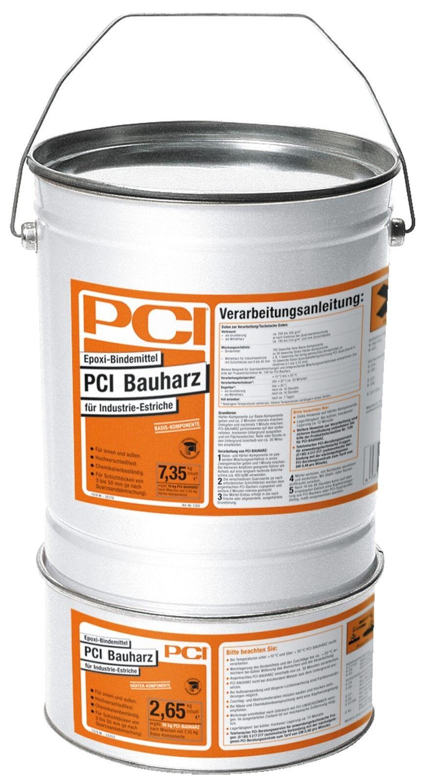 PCI Bauharz 10 kg Epoxi-Bindemittel Harz Ausgleichsmörtel und Reparaturmörtel