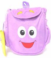 Dora The Explorer Dora Mr. Backpack Purple Backpack With Detachable Map 10