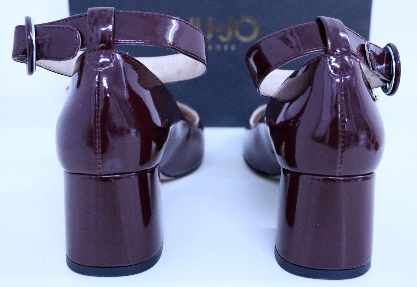 LIU°JO Pumps Lackschuhe Bordeaux Gr.38 Lackleder Bordeaux Lackschuhe NEU+OVP Ladenpreis 626713