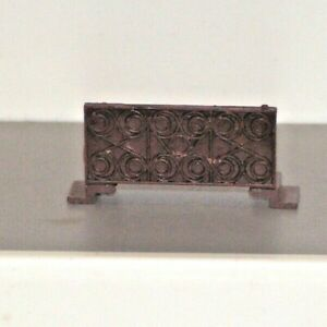 Triang 00 Gauge Davy Crockett Old Time Smoking Car Brown Balcony Stairs Spares