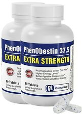PhenObestin 37.5 ES 120CT Adipex P Strong Fast Rapid Best Weight Loss Diet Pills
