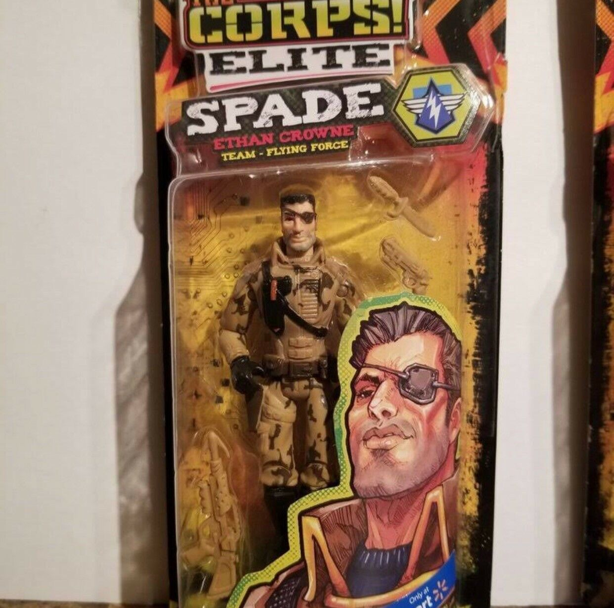 The Corps Elite 2018 Character Discontinued Action Figure Collection 3+ 3+ 3+  NIB 6fb982