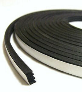 "Universal Hot Rod Door & Trunk Seal Kit - Ribbed Style -  3/8"" X 3/16"" x 20 Feet"
