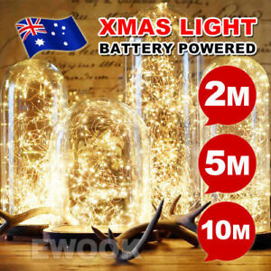 20-50-100-LED-Battery-Operated-Mini-LED-Copper-Wire-String-Fairy-Lights-10M-Top
