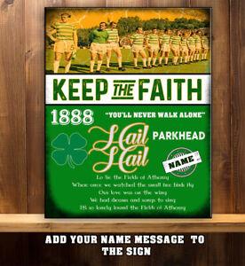 Celtic Park Metal Sign Retro Vintage Bar Pub Garage Poster Wall Shed Sign