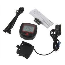 Bicycle Bike Cycling Computer LCD Odometer Speedometer Stopwatch Speed meter OE#