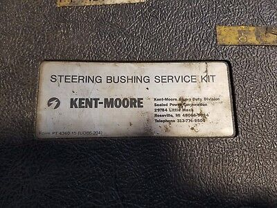 Kent-Moore J-39495 W Car Rear Caliper Bushing Service Kit GM Specialty Tool