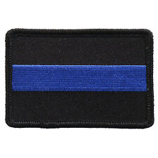 USA Fallen Police 3 inch Blue line iron on sew on police Patch