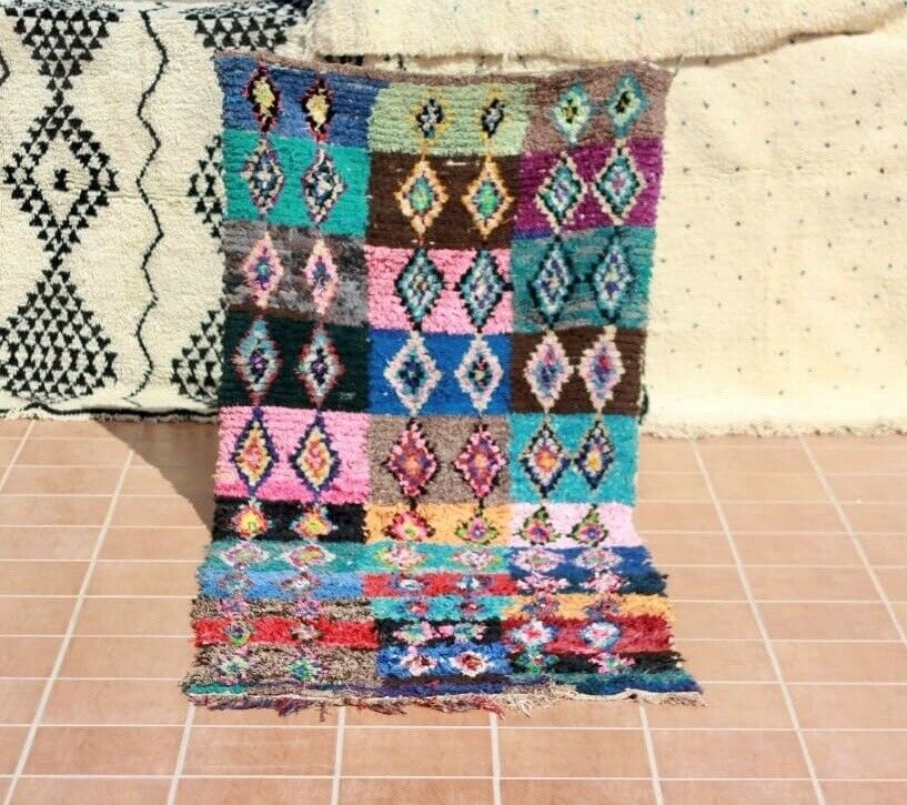Gulvtæppe, ægte tæppe, Recycled textil materiel
