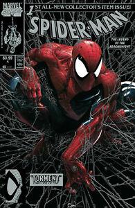 Spider-Man-1-Facsimile-Clayton-Crain-SILVER-Virgin-Variant-Set-SOLD-OUT-PRESALE