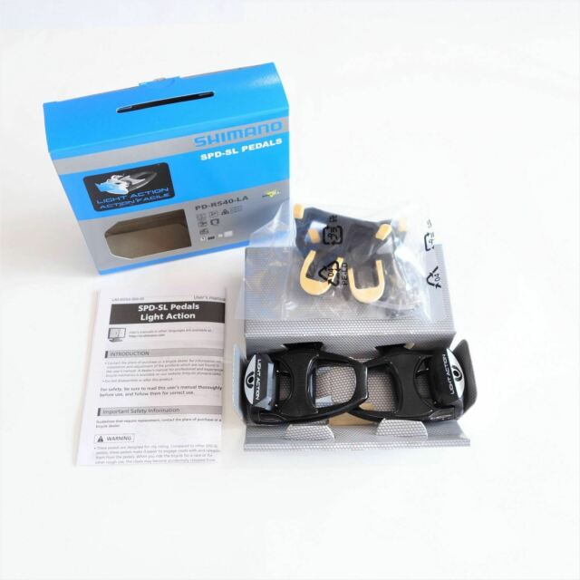Shimano PD-R540 Road Bike Pedals SPD-SL Clipless Pedals+SM-SH11 Cleats