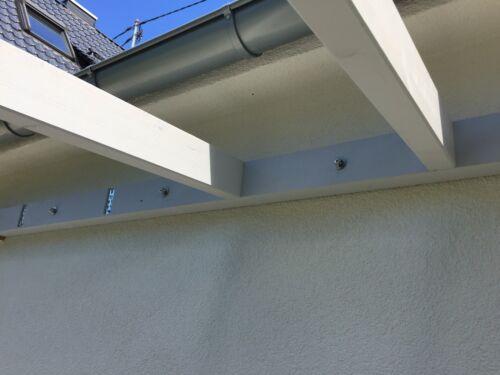 Holzverbinder 1 Set komplett mit Schrauben Knapp RICON 160//40 EA Verbinder