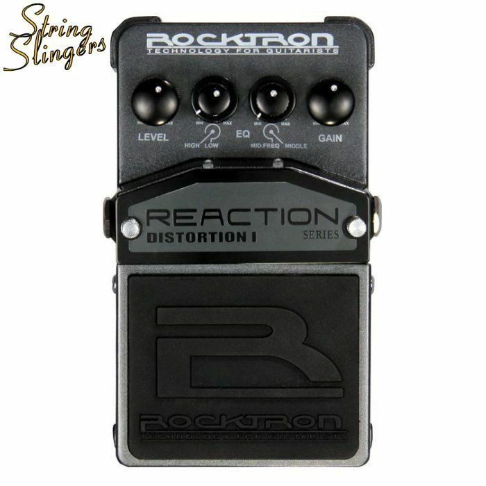 Rocktron Reaction Distortion 1 Effects Pedal.