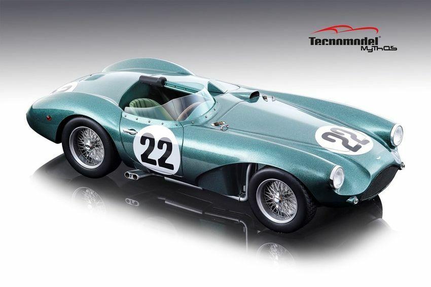 Aston Martin Db3 S  22 Winner Gp Spa 1955 P. Frere 1 18 Modell TECNOModelll