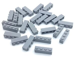LEGO LOT OF 40 DARK BLUISH GREY 4 X 4 STUD PLATE PIECES BASE PLATFORM PARTS