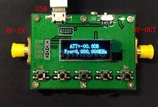 OLED display 30DB Step 0.25DB RFMOD LF-6GHz Digital programmable attenuator