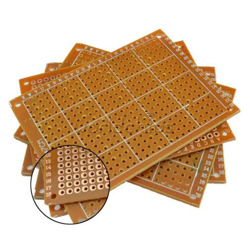 10PCS DIY Prototype Paper PCB Universal Experiment Matrix Circuit Board 5x7cm WC