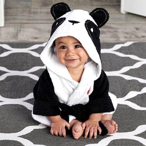 Kids Toddler Baby Boys Girls Cartoon Night Bath Robe Sleepwear Homewear Pajamas