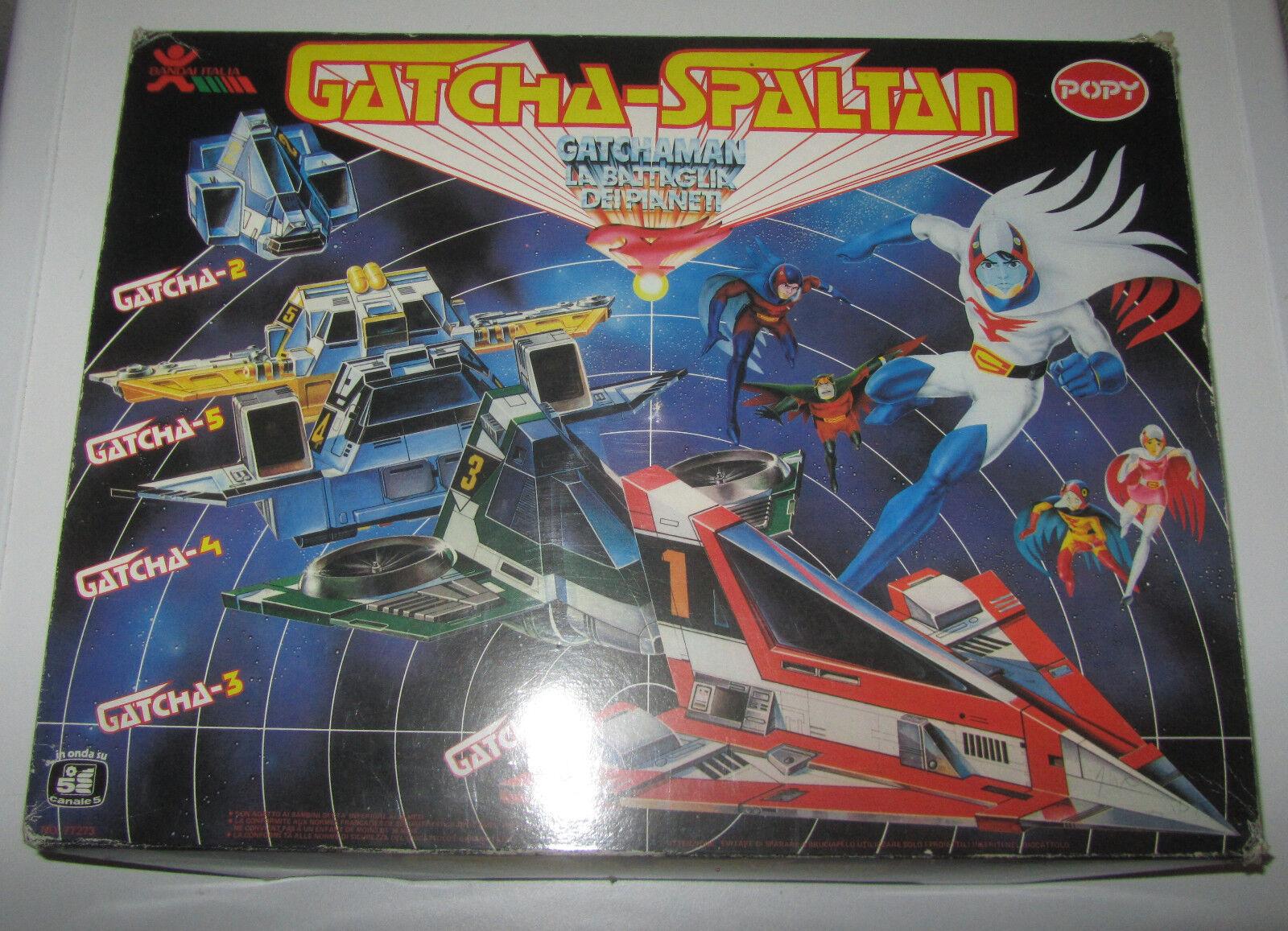 GATCHAuomo   Gatcha-Spaltan 1980 Battle Of The Planetes BeAI ITALIA POPY  da non perdere!