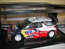 Citroen DS3 WRC Loeb/Elena #1 Sieger Rally Mexiko 2011 in 1:18 von Norev