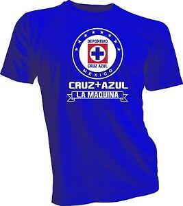 3429c079b4693 Cruz Azul La Maquina T Shirt Camiseta Playera Mexico Soccer Futbol ...