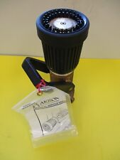Akron Firefighting Equipment Brass Nozzle Style 3025 Afff2 12 250 Psi