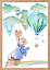 Baby-Boy-Peter-Rabbit-Beatrix-Potter-Nursery-Decor-Art-Print-Set-Bunny-Room miniatuur 6