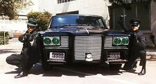1960s GREEN HORNET TV show cast with Black Beauty car magnet - new!