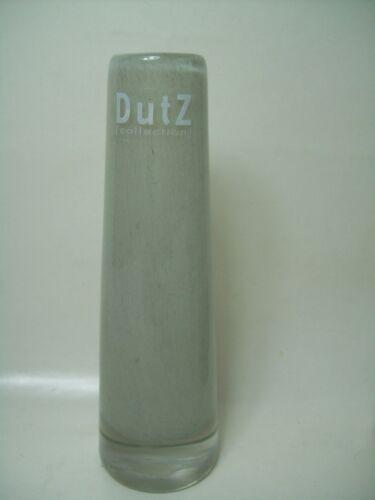 21 cm grau Auswahl Dutz Vase Glas light grey solifleur rund schwer glasvase 15