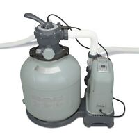 Intex Krystal Clear 2150 GPH Sand Filter Pump & Saltwater System