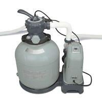 Intex 2650 Gph Saltwater System & Sand Filter Pump Swimming Pool Set   28679eg on sale